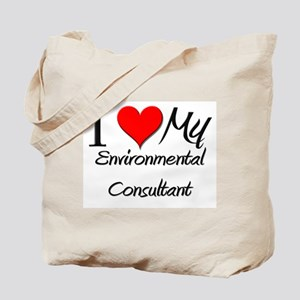 I Heart My Environmental Consultant Tote Bag