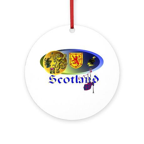 Dynamic Scotland.1 Ornament (Round)
