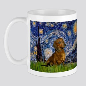 Starry Night & Dachs (#1) Mug