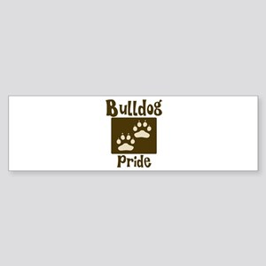 Bulldog Pride Bumper Sticker