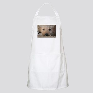 Your heart strikes gold BBQ Apron