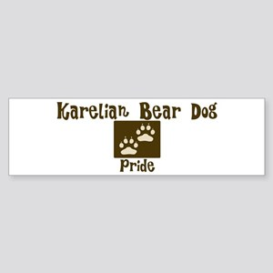 Karelian Bear Dog Pride Bumper Sticker