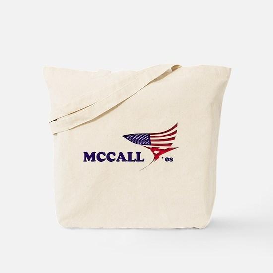 James H. McCall 08 flag Tote Bag