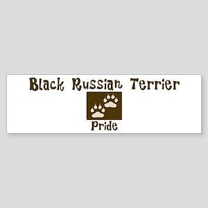 Black Russian Terrier Pride Bumper Sticker