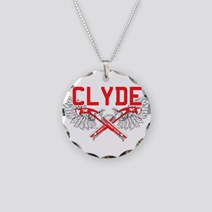 Bonnie and clyde hat Necklace Circle Charm