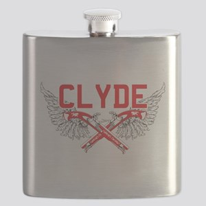 Bonnie and clyde hat Flask