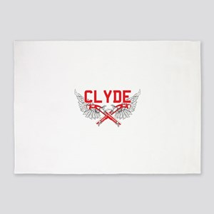 Bonnie and clyde hat 5'x7'Area Rug