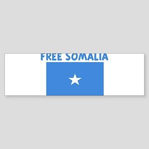 FREE SOMALIA Bumper Sticker