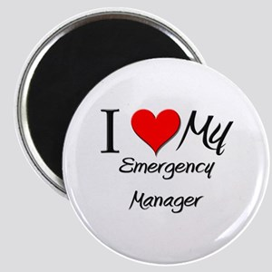 I Heart My Emergency Manager Magnet
