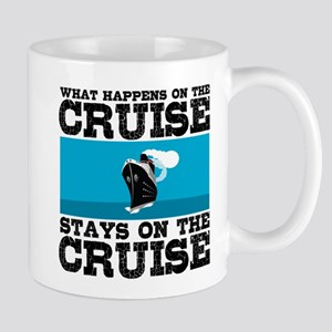 WHAT HAPPENS ON CRUISE Mugs