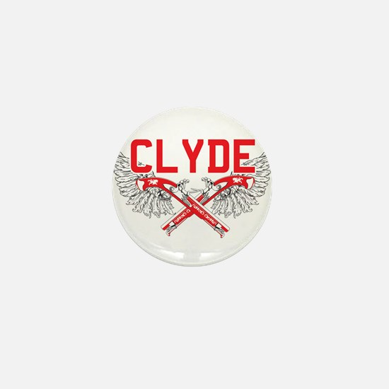Bonnie and clyde hat Mini Button