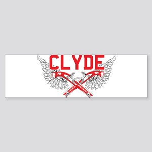 Bonnie and clyde hat Bumper Sticker