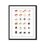 Sushi Framed Panel Print