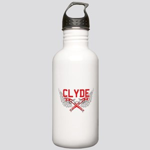 Bonnie and clyde hat Stainless Water Bottle 1.0L