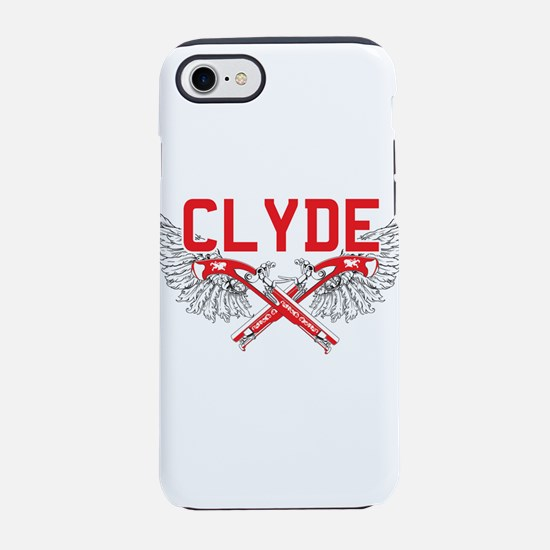 Bonnie and clyde hat iPhone 8/7 Tough Case