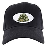 Cute Turtle Black Cap