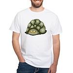 Cute Turtle White T-Shirt