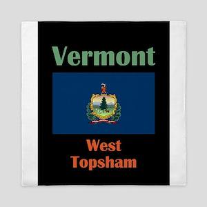 West Topsham Vermont Queen Duvet