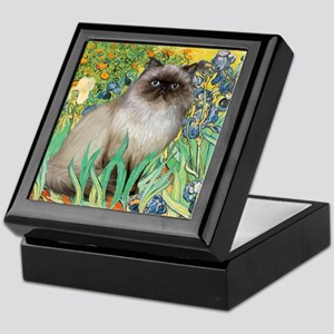 Irises / Himalayan Keepsake Box
