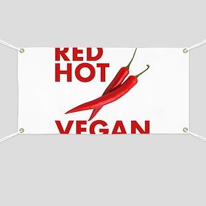Red Hot Vegan Banner