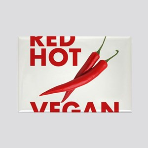 Red Hot Vegan Magnets