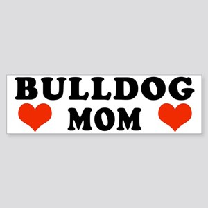 Bulldog Mom Bumper Sticker