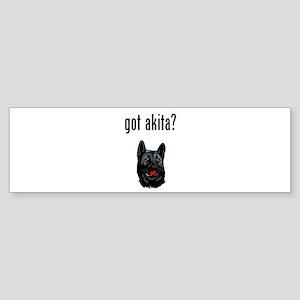 Akita Bumper Sticker