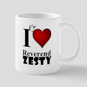 Love Reverend Zesty White 11 oz Ceramic Mug