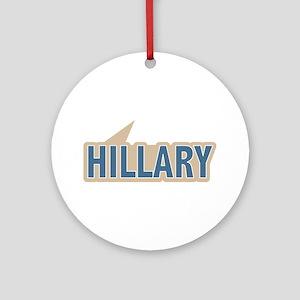 I say Vote Hillary Clinton Blue Ornament (Round)