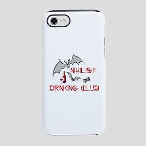 Nihilist Drinking Club iPhone 8/7 Tough Case