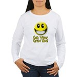 Get Your Grin On Women's Long Sleeve T-Shirt