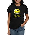 Get Your Grin On Women's Dark T-Shirt