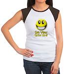 Get Your Grin On Women's Cap Sleeve T-Shirt