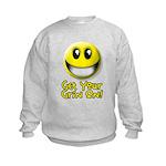 Get Your Grin On Kids Sweatshirt