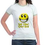 Get Your Grin On Jr. Ringer T-Shirt