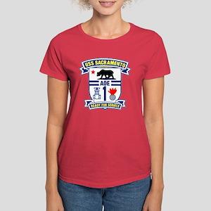 USS Sacramento AOE 1 Women's Dark T-Shirt