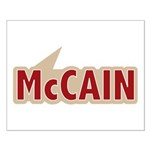 I say Vote John McCain Red Small Poster