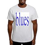 340.blues.. Ash Grey T-Shirt