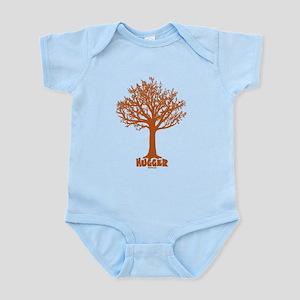 TREE hugger (red) Infant Bodysuit