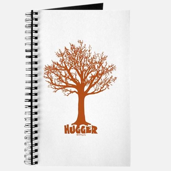 TREE hugger (red) Journal