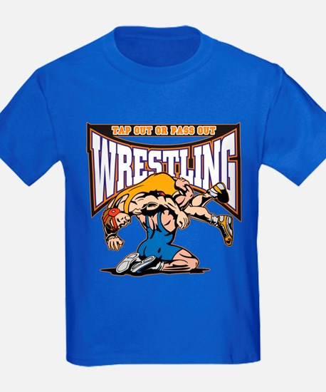 Tap Out or Pass Out Wrestling T