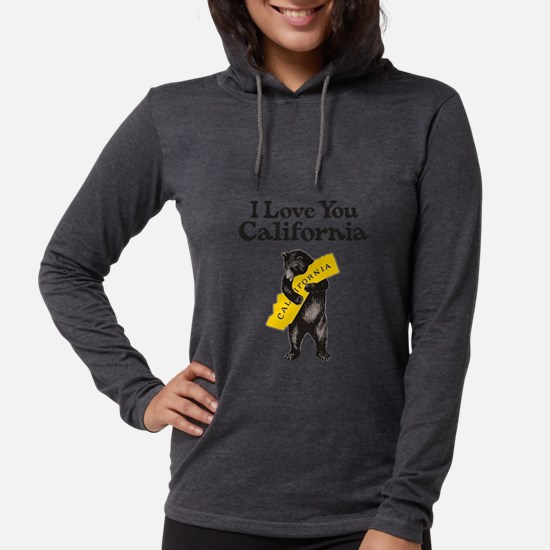 """I Love You California"" Vintag Long Sleeve T-Shirt"
