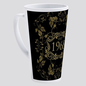1968 Birth Year 17 oz Latte Mug