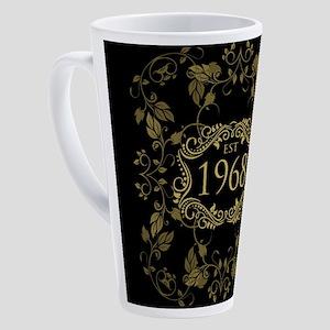 1968 Birth Year 17 oz Latte Mug
