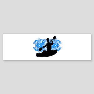KAYAKERS VIBE Bumper Sticker