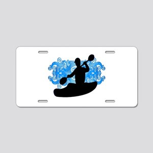 KAYAKERS VIBE Aluminum License Plate
