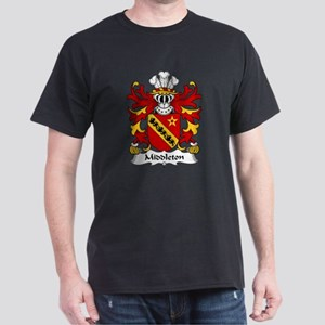 Middleton Family Crest Dark T-Shirt