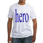 347. hero.. Fitted T-Shirt