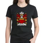 Mercer Family Crest Women's Dark T-Shirt