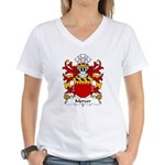 Mercer Family Crest Women's V-Neck T-Shirt